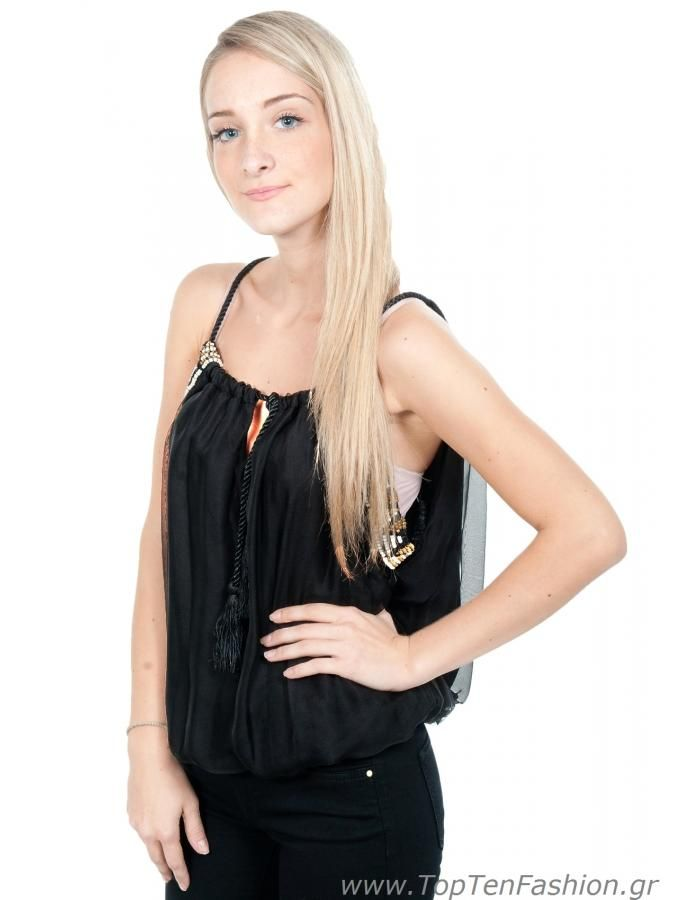 BSB Γυναικείο Αμάνικο Μπλουζάκι