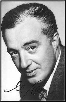 Vittorio De Sica - (7 July 1901 or 1902 – 13 November 1974) - Italian director and actor. Four films he directed won Academy Awards: Sciuscià and Bicycle Thieves (Ladri di biciclette) were awarded honorary Oscars, while ieri, oggi, domani and Il giardino dei Finzi Contini won the Best Foreign Language Film Oscar. Bicycle Thieves is considered to be one of the most influential films in cinema history