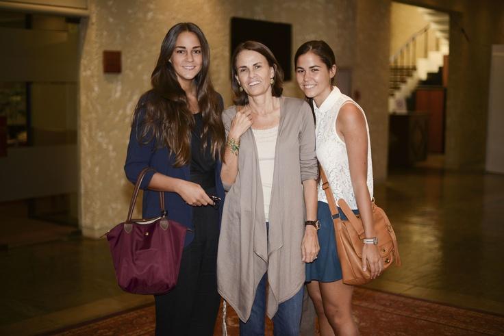 Agustina Fantini, Yolanda Amunategui y Emilia Fantini