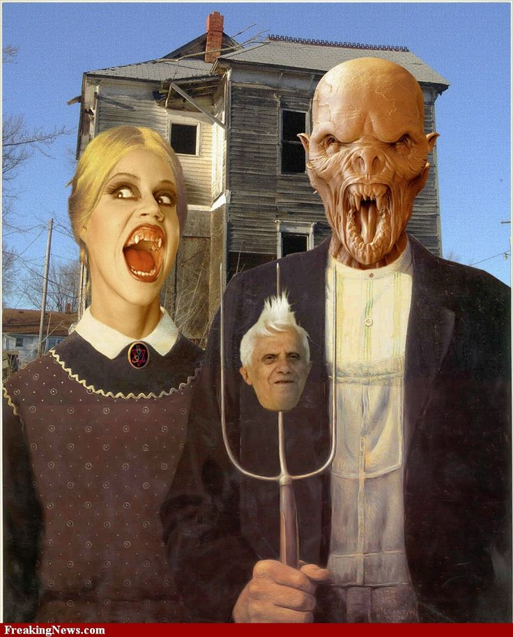 American Gothic | American-Gothic-Monsters
