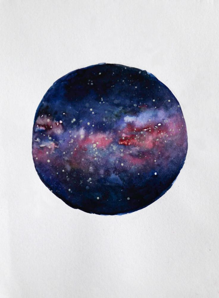 You never know your limit. Explore it well. #watercolour #galaxy