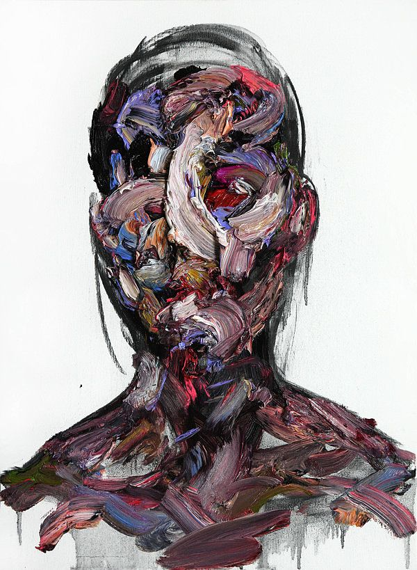 Oil & Charcoal on Canvas by KwangHo Shin