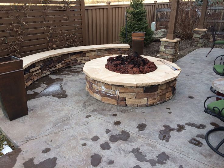 12 Best Concrete Patio Designs Images On Pinterest