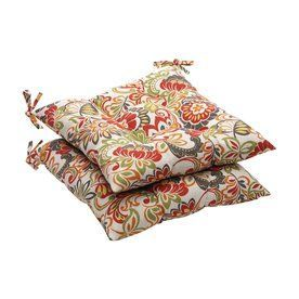 Pillow Perfect Zoe Multicolored Floral Seat Pad For Universal 450100
