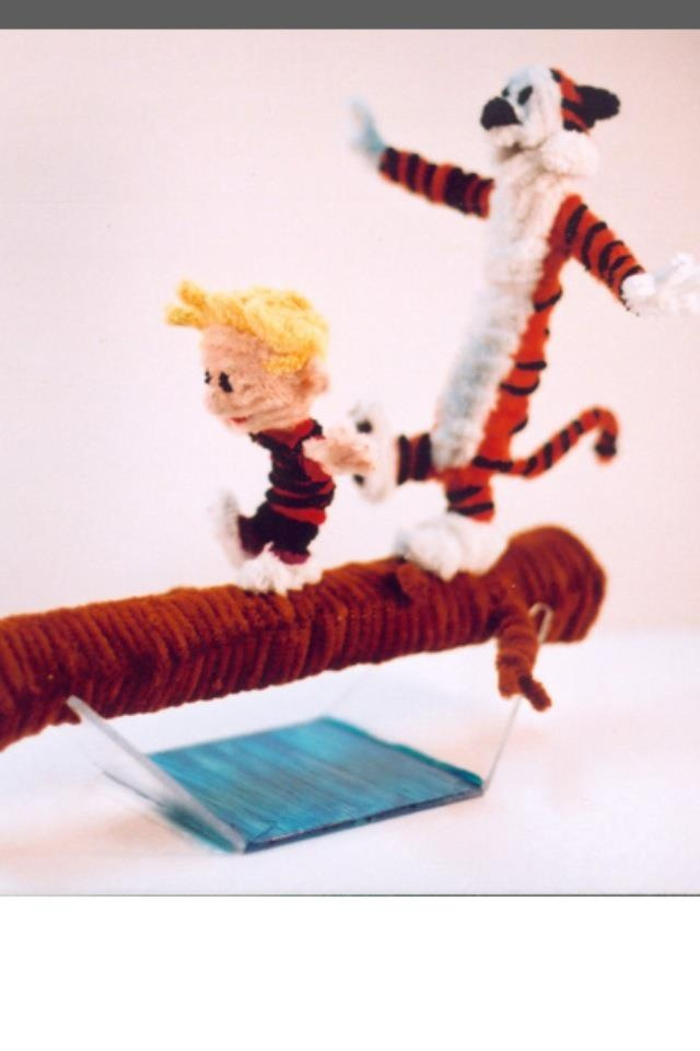Made out of pipe cleaners!: Pipecleaner Art, Crafts Pipe Cleaners, Pipe Cleaner Calvin, Crafts Using Pipe, Pipe Cleaner Crafts, Calvin And Hobbes, Pipes, Cleaners Ideas