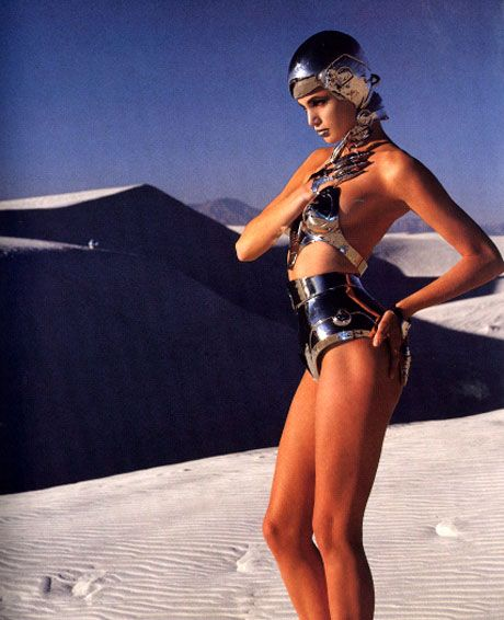 Thierry Mugler (ELLE March 1991)