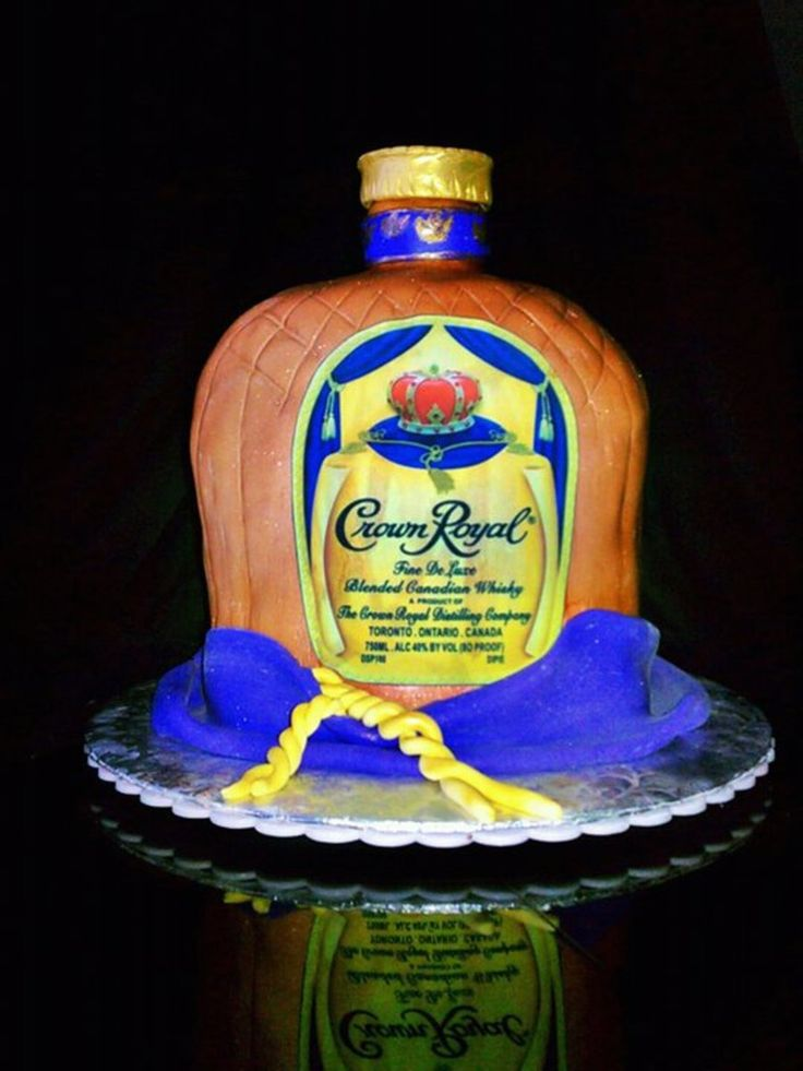 17 Best ideas about Crown Royal Cake on Pinterest Royal ...