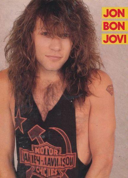 Jon Bon Jovi. Credit to WILD IS THE WIND, Tumblr.