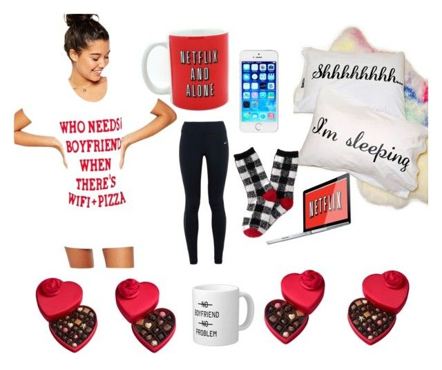"""My Valentines Day..."" by payrae ❤ liked on Polyvore featuring ASOS, NIKE, Jac Vanek, Aéropostale and Godiva"