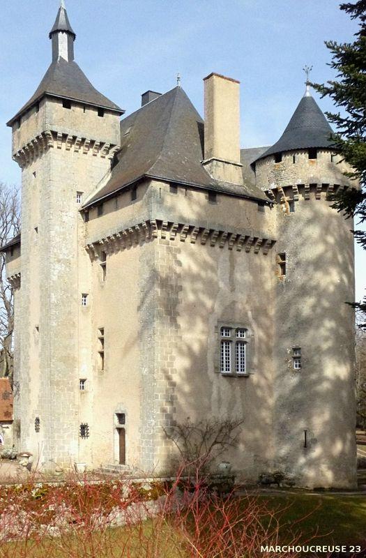 Le château de la Chezotte, Creuse