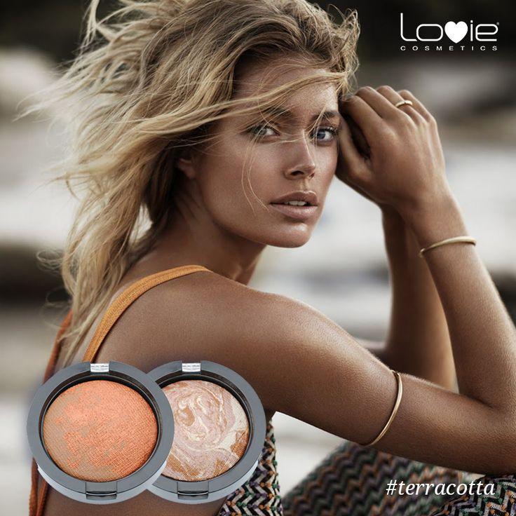 Διατήρησε το μαύρισμά σου με ρουζ terracotta από τη Lovie! Δες εδώ: http://www.lovie.gr/rouz-lovie1/rouz-terracotta #lovie #cosmetics #terracotta #tan #summer