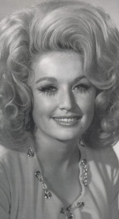 young dolly, her hair is amazing!