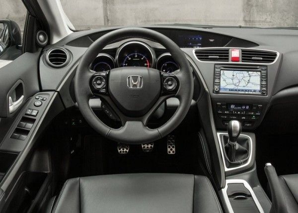 2014 Honda Civic Tourer Dashboard 600x428 2014 Honda Civic Tourer Full Review with Images