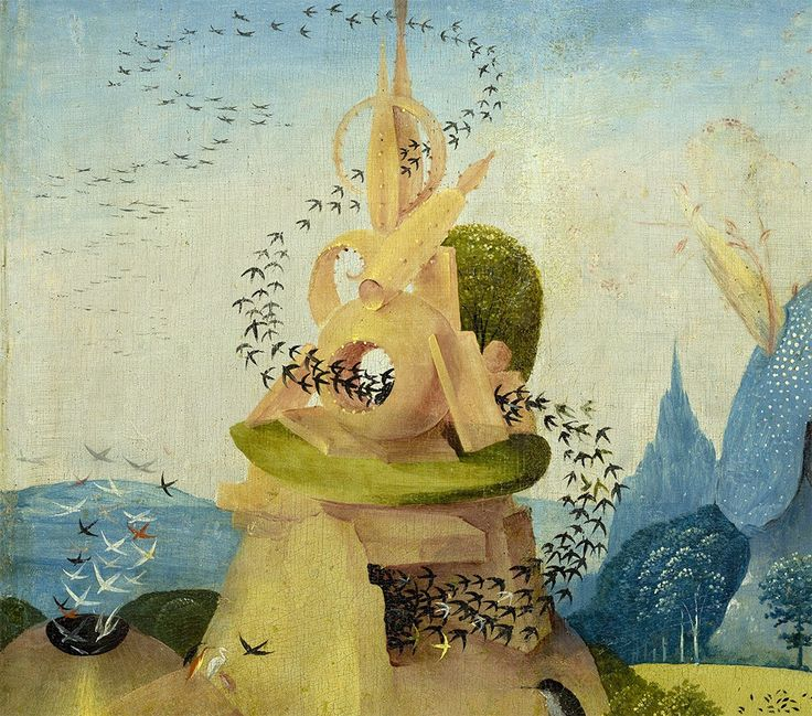 Hieronymus Bosch, Detail from 'The Garden of Earthly Delights'