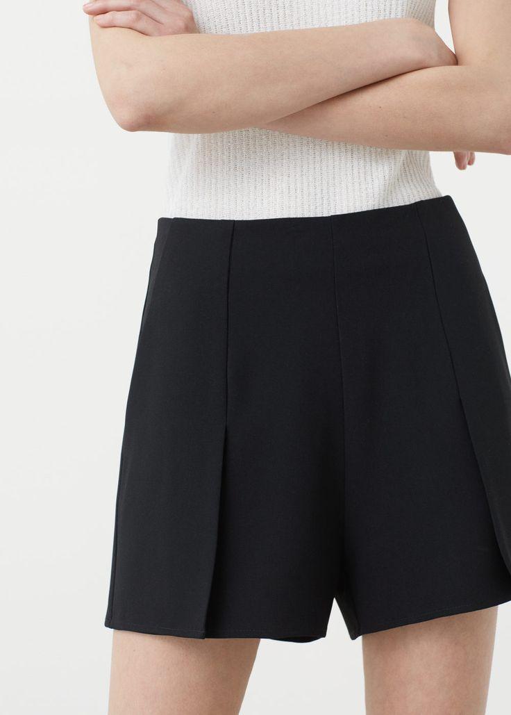 Shorts mit seitentaschen - Hosen für Damen   MANGO Deutschland