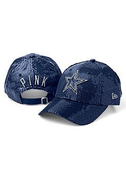 Normally not much of a hat girl, but I'd totally rock this! Had me at sequin! #VSPINK #Cowboys