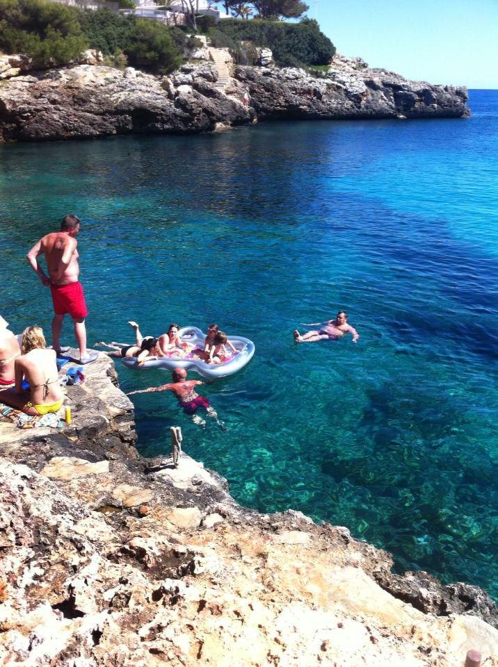 Dive into the Med! At Cala Egos, Mallorca.