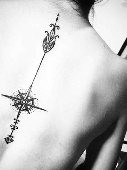 Tattoos mit einer Symbolik aus anderen Ländern, wie hier zum Beispiel aus Thailand, geben deinem Travel-Tattoo eine besondere Note.Gesehen bei @edgomz