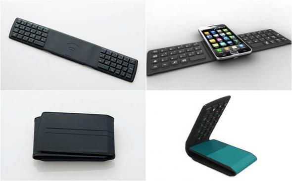 Переносная клавиатура для смартфона
