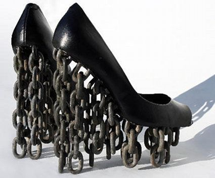 30 Insane High Heels That Will Make Your Feet Hurt... all of these look absolutely horrible
