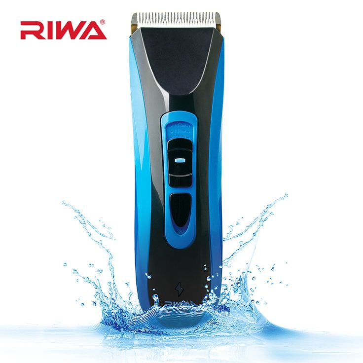 RIWA Professional Hair Clipper IPX7 Waterproof Rechargeable Hair Trimmer Cordless Hair Cutting Machine RE-750A