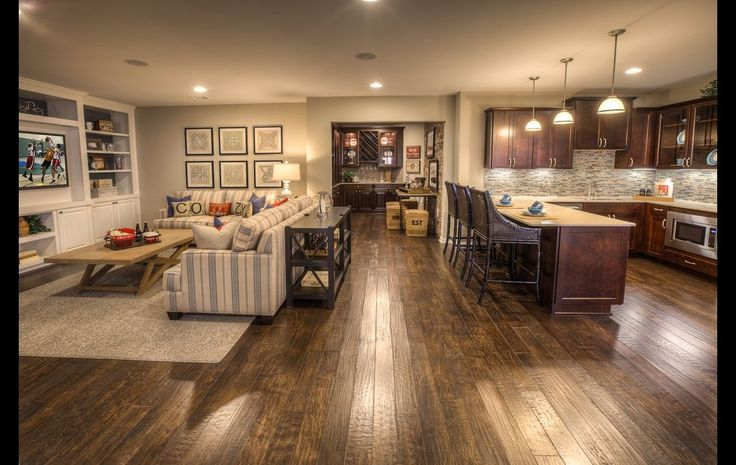 Photos: A look at some modern variations on the home basement, Jan. 2013.