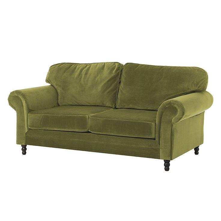 Sofa Dijon (3-Sitzer) - Samtstoff - Olivgrün, Jack and Alice Jetzt bestellen unter: https://moebel.ladendirekt.de/wohnzimmer/sofas/2-und-3-sitzer-sofas/?uid=ba3a39ab-2fcd-5940-8531-6ef5155c07dd&utm_source=pinterest&utm_medium=pin&utm_campaign=boards #möbel #sofas #3sitzersofas #alice #wohnzimmer #couches #jack