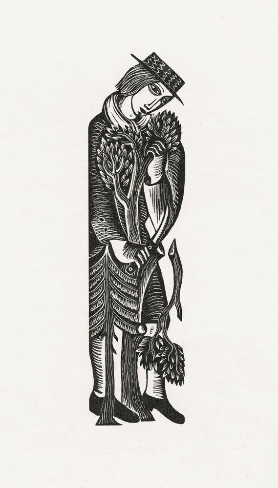 David Jones wood engraving Artists - Art