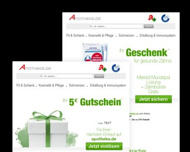 Newsletter Anmeldung - Apotheke.de - Online Versand Apotheke im Internet, günstige Medikamente kaufen in der Versandapotheke !