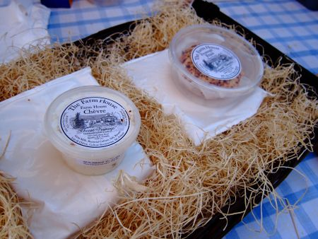 Chèvre and fromage frais