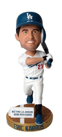It's Eric Karros bobble head night tonight @ Dodger Stadium as the Dodger host the Mets. Ticket prices start @ just $9, many available for at or under face value.
