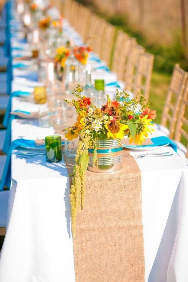60th Birthday Dinner Party Ideas Part - 25: Tin Centerpieces | 60th Birthday Dinner Party Tin-can-centerpieces U2013 The  Sweetest .