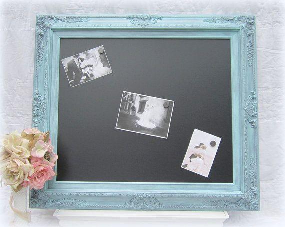Antique Chalk Boards for Sale | CHALKBOARDS For Sale Wedding Decor Teal Wedding Menu Board Vintage ...