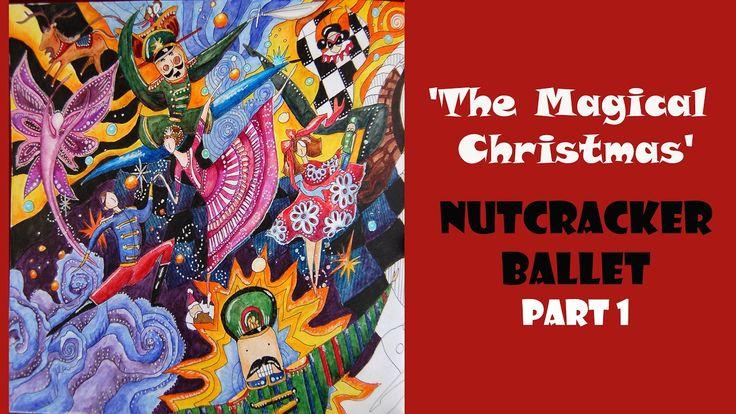 Colouring 'The Magical Christmas' Nutcracker. Part 1 / Раскраска-антистр...