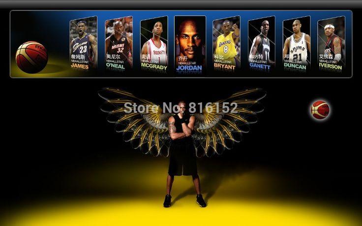 2010 MVP коби брайант звезда баскетбола холст печатные изображения мальчика настенные декор живопись