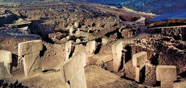 Gobekli Tepe: The World's First Temple? Predating Stonehenge by 6,000 years, Turkey's stunning Gobekli Tepe upends the conventional view of the rise of civilization.  Now seen as early evidence of prehistoric worship, the hilltop site was previously shunned by researchers as nothing more than a medieval cemetery. (Berthold Steinhilber)