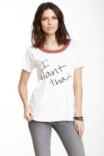 I want that