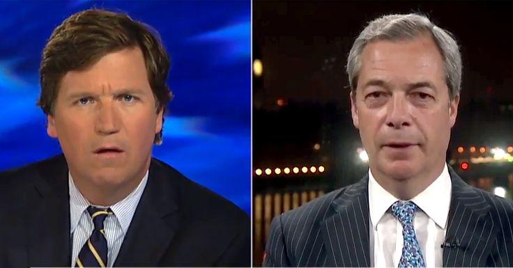 Nigel Farage Blames Tony Blair, Multiculturalism's Open Door For Terror Threat - 3/23/17