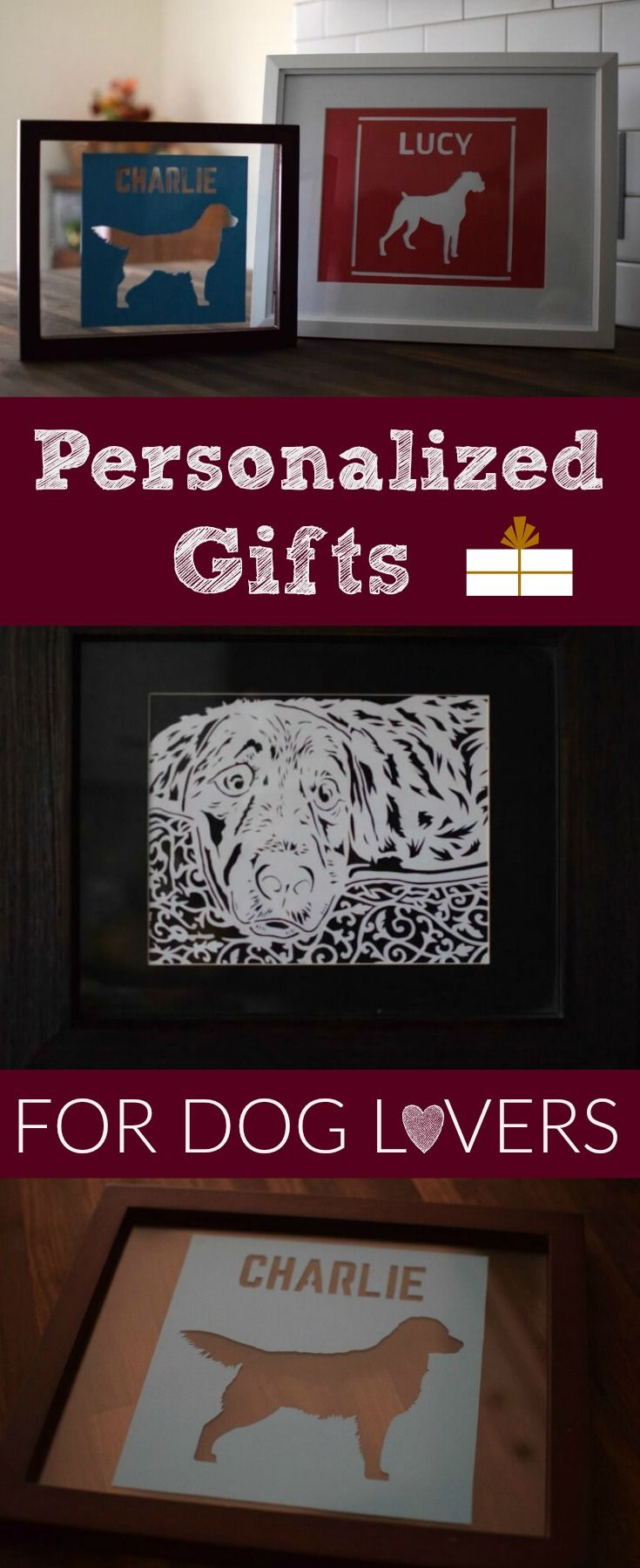 """Looking for a great gift for the dog lover on your list? Check out these customized, hand cut paper art pieces from @MyDogLikes ! Save 15% through 12/10/16 on any order with code """"ShopMDL15"""""""