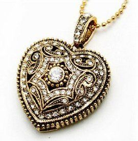 """Hidden inside this darling cubic zirconia necklace pendant is an 8GB USB flash drive. This necklace is stylish, practical, and at $25.99, priced low enough to fit solidly into our """"stocking stuffer"""" category. ----- yes."""