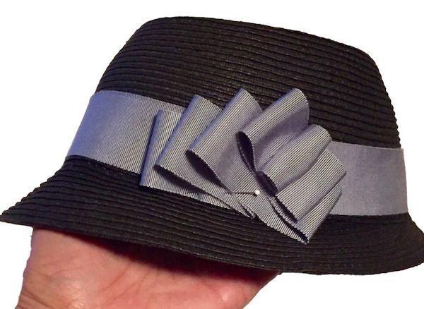 How To Make A Removable Ribbon Hat Band Tutorial Part 1 C Sews Hat Band Sewing Techniques Tutorials Sewing Blogs