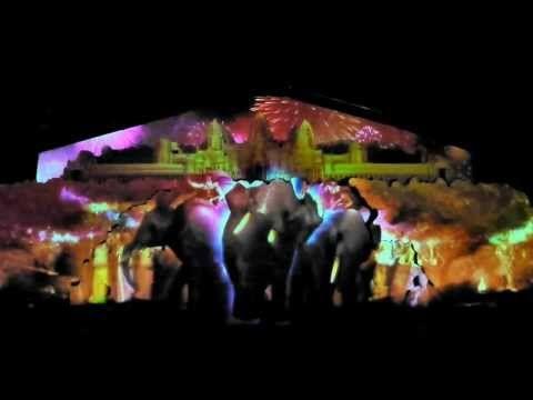 鳥取砂の美術館-3D立體投影秀 - YouTube
