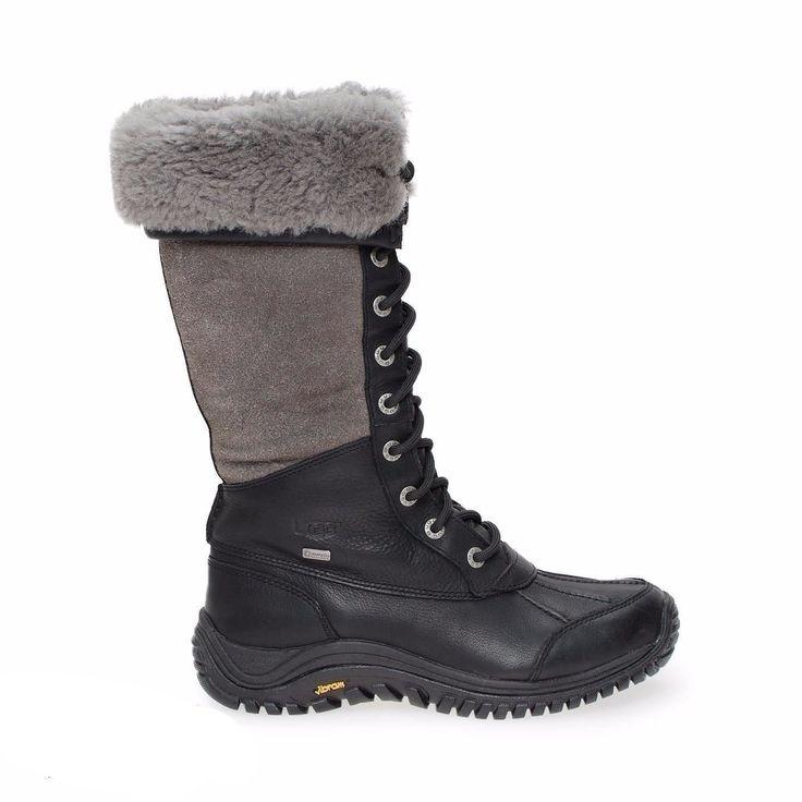 UGG Adirondack Tall Black Boots