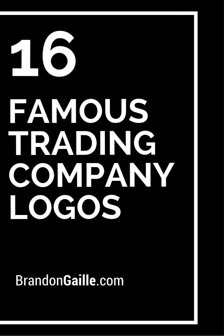 16 Famous Trading Company Logos | Company logo, Logos ...