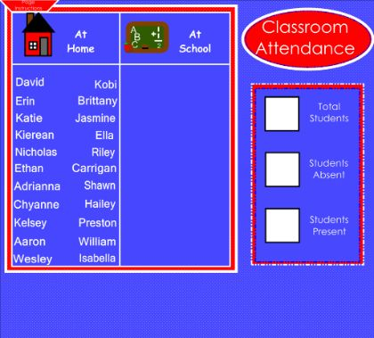 smartboard lessons Morning Calendar