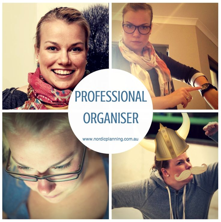 Four Faces of a Professional Organiser, Kaarin @ Nordic Planning in Perth - Nordic Planning - Professional Organiser in Perth