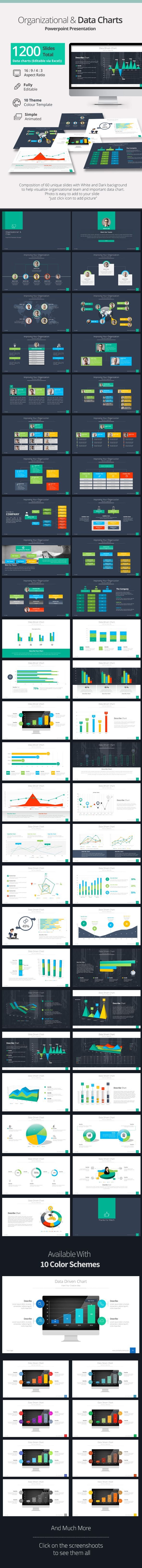 Organizational & Data Chart Presentation PowerPoint Template #slides #design Download: http://graphicriver.net/item/organizational-data-chart-presentation/13649727?ref=ksioks