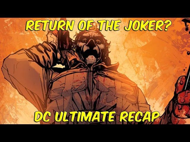 Return Of The Joker In Batman Beyond?! | Ultimate DC Recap Week 3 - Video --> http://www.comics2film.com/return-of-the-joker-in-batman-beyond-ultimate-dc-recap-week-3/  #StaffPicks