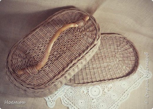 Хлебница и стаканчик для масла фото 4