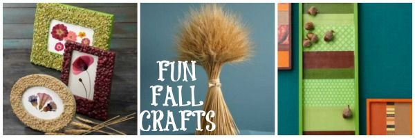 3 easy to make fall crafts